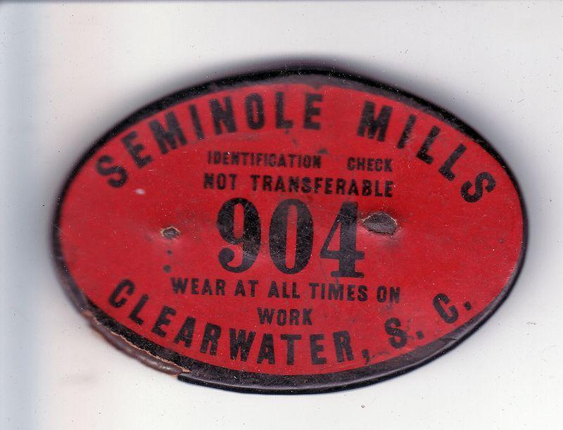 Seminole Badge