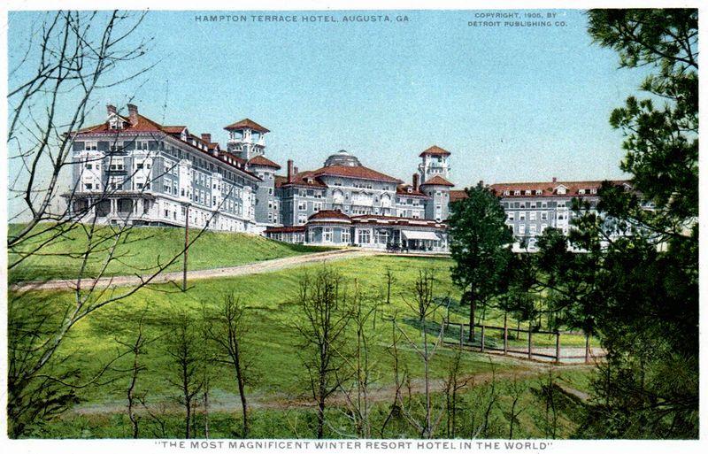 Hampton terrace hotel blog